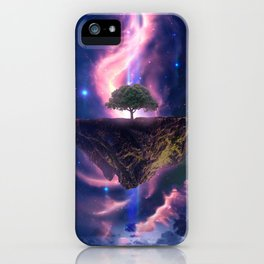 Galaxy Tree iPhone Case