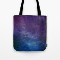 universe Tote Bags featuring Universe by Space99