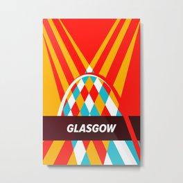 Glasgow city Metal Print