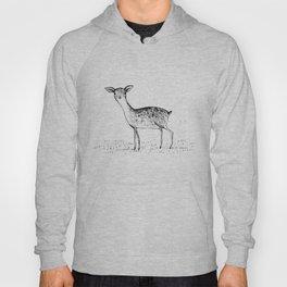 Monochrome Deer Hoody