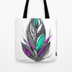 Harvest Feather 2 Tote Bag