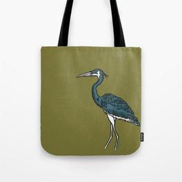Johnny Blue Bird Tote Bag
