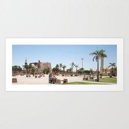 Temple of Luxor, no. 23 Art Print