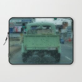 Rainy Days and Vintage Vehicles Laptop Sleeve