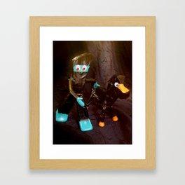 ninja gumby and ninja pokey Framed Art Print