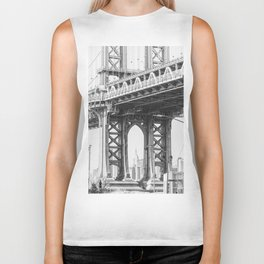 Manhattan Bridge Empire State Biker Tank