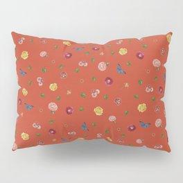 Botanical Red Pillow Sham