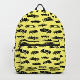 Classic Cars // Yellow Backpack