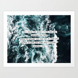 Jeremiah Ocean Art Print
