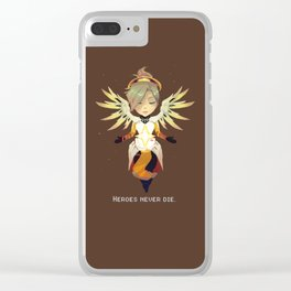 Heroes Never Die Clear iPhone Case
