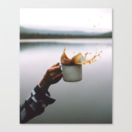 Coffee Cheers Canvas Print