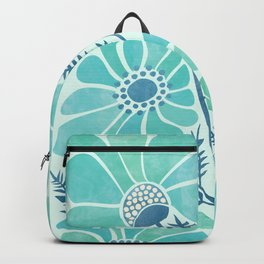 Himalayan Blue Poppies Backpack