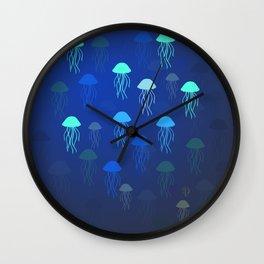 Jellyfish Dance Wall Clock