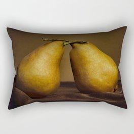Standing Pears Rectangular Pillow