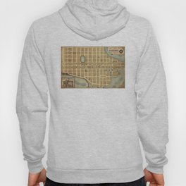 Vintage Map of Beaufort SC (1860s) Hoody