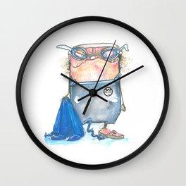 Pal-Swimmer Wall Clock