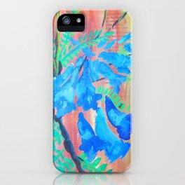 Jacaranda Purples iPhone Case