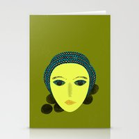 nausicaa Stationery Cards featuring nausicaa by juni