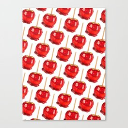 Candy Apple Canvas Print