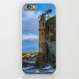 Pirate Tower on Victoria Beach iPhone Case