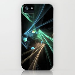 Fractal Convergence iPhone Case