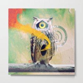Owl Number XXII Metal Print