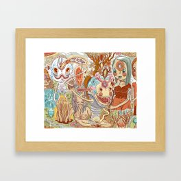 WHEREABOUTS Framed Art Print