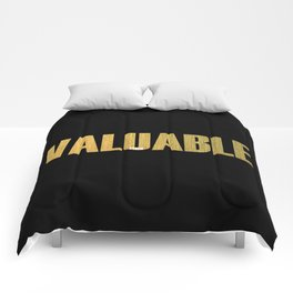 Valuable Comforters
