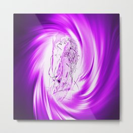 Space and time 8  Erotic Metal Print