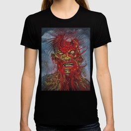 Zombie - With It's Brains Blown Out T-shirt