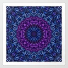 Twilight Mandala Art Print