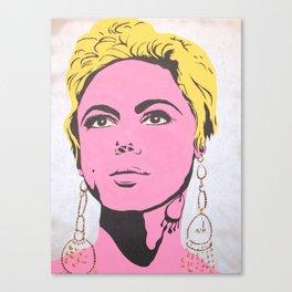 Factory Girl Canvas Print
