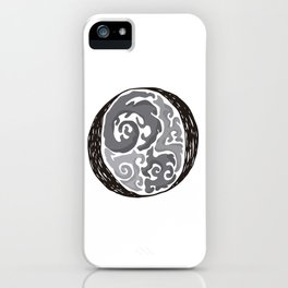 The Brainy O iPhone Case