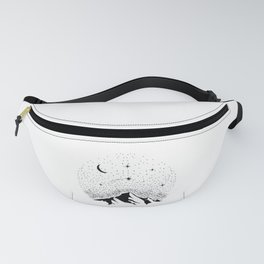 SPACE Gift Astronomy Hobby for Nerds Fanny Pack