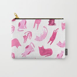 Cats - Pink Carry-All Pouch