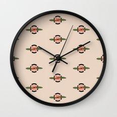 LOVE  Russian Autumn Wall Clock