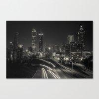 atlanta Canvas Prints featuring Atlanta by ken fager