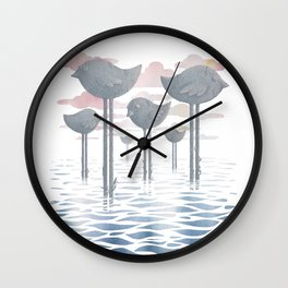 The Remnants Wall Clock