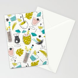 Cocktail Hour Stationery Cards