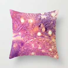 Noel rose -pink Christmas Throw Pillow