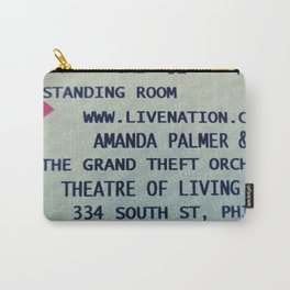 Amanda Palmer & the GTO: Standing Room Carry-All Pouch
