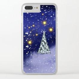 Xmas Season3 Clear iPhone Case