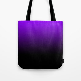 black and purple Tote Bag