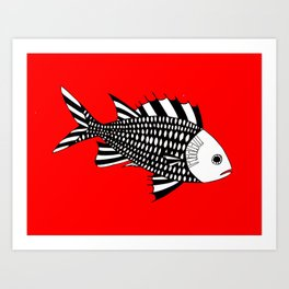 Menpachi Art Print