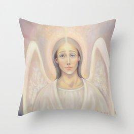 Archangel Anael, Angel of Love Throw Pillow