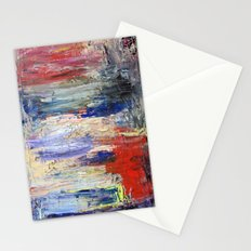 Untitled Abstract #5 Stationery Cards