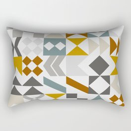 Mid West Geometric 05 Rectangular Pillow