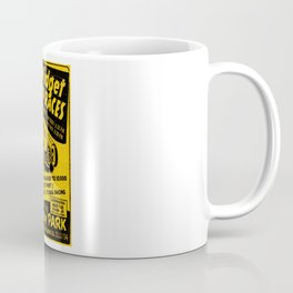 Midget Auto Races, Race poster, vintage poster Coffee Mug