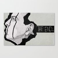 moriarty Canvas Prints featuring Moriarty by suis0u
