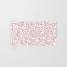 Light Rose Gold Mandala Minimal Minimalistic Hand & Bath Towel